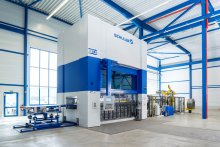 PROTEC | SCHULER MSD 630 servo press with 6,300 kN press force